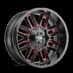 8107 COGENT - BLACK W/ PRISM RED