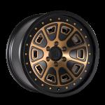 8301 FLAT IRON - MATTE BLACK W/BRONZE TINT
